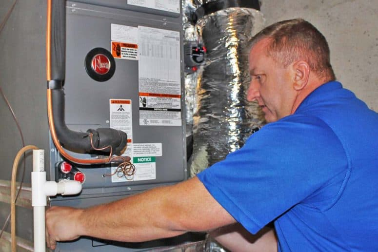 Furnace repair, maintenance and replacement Asheville NC
