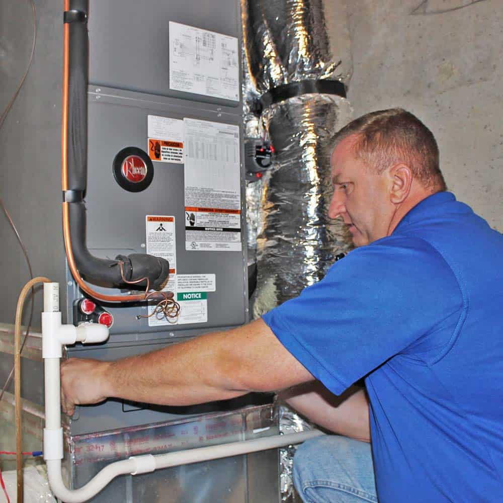 heating and furnace replacement, maintenance and repair Asheville NC